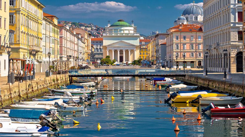 Trieste… la città che va al mare